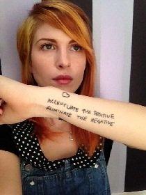 Nouveau tatouage pour Hayley