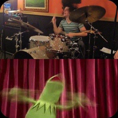Ilan Rubin à la batterie