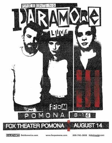 Concert en Californie le 14 août