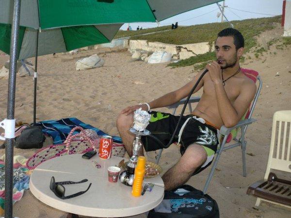 amine a la plage