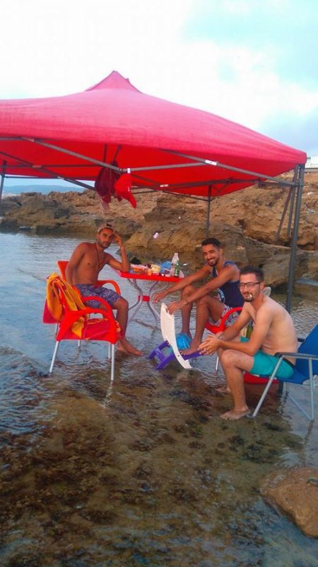 la playa avc mé amis ;)
