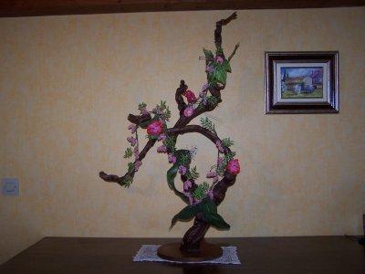 Cep de vigne avec glycines arbres en perle for Cep de vigne decoration