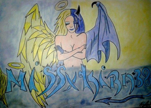 Mi Ange Mi Demon + pseudo GamerTag