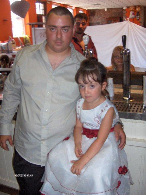 mon filleul william et ma belle-soeur elodie,et tout et tout