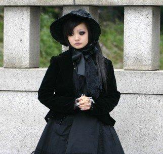elegant gothic aristcrat