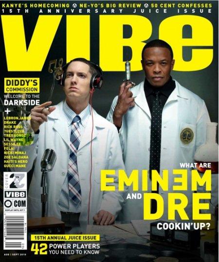 Interviews de Dr Dre pour le Magazine Vibe de cette été !