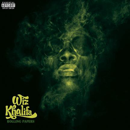 Wiz Khalifa - Rolling Papers (Cover)