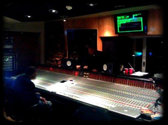 Dr Dre en studio avec Roscoe pour Detox !