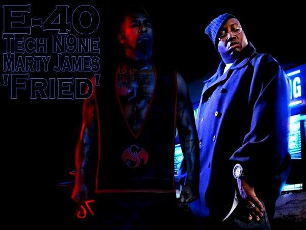 E-40 - Fied (Feat Tech N9ne & Marty James)