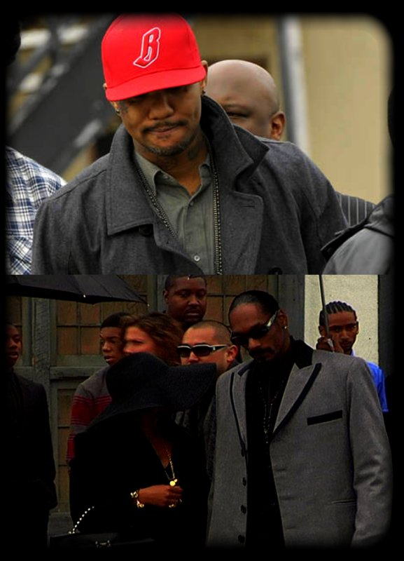 Photos des Funérailles de Nate Dogg ..