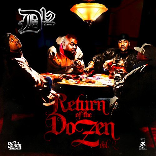 D12 - Return of the Dozen 2 (Cover + Tracklist)