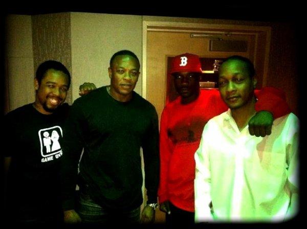 Jay Rock en Studio avec Dr Dre, DJ Qui & Terrace Martin !