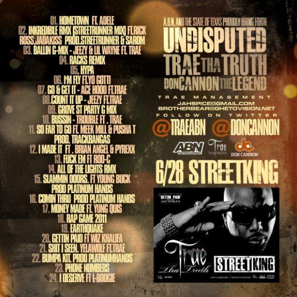 Trae Tha Truth - Undisputed (2011
