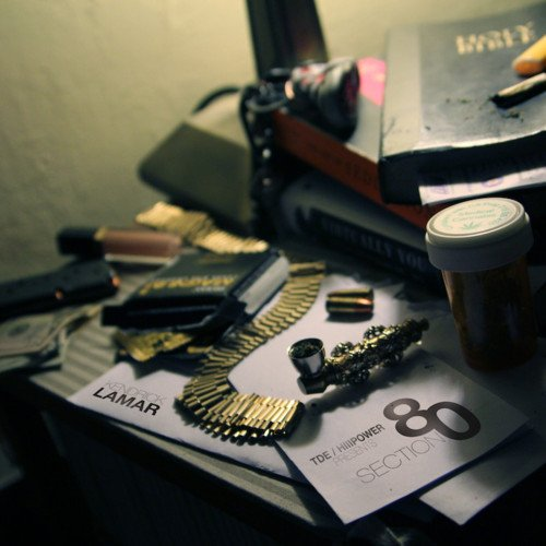 Kendrick Lamar - Section 80 (Cover)