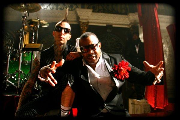 """Travis Barker a tourné le Clip de """"Let's go'' avec Busta Rhymes, Twista, Yelawolf & Lil Jon !"""