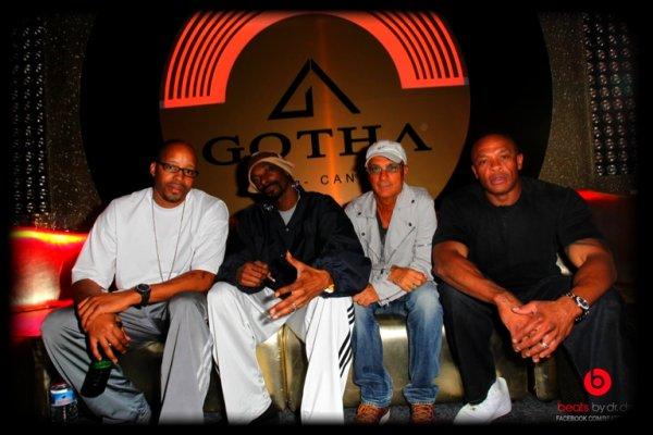 Dr Dre, Snoop Dogg & Warren G en France !