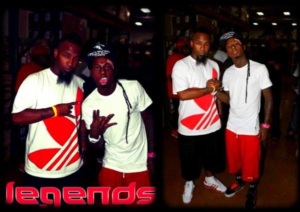 Tech N9ne accueille Lil Wayne dans les locaux de Strange Music !