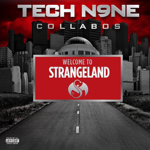 Tech N9ne - Welcome to Strangeland (Cover & Guest)