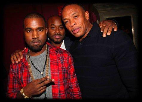 Kanye West & Dr Dre en soirée !