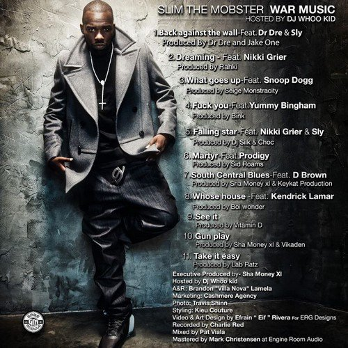 Slim Da Mobster - War Music (2011)
