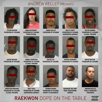 Raekwon - Dope On The Table EP (2011)