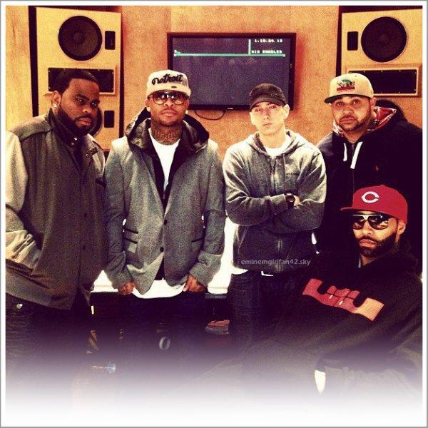 Slaughterhouse en studio avec Eminem !