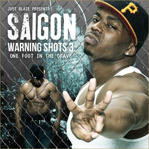 Saigon - Warning Shots 3 (Cover & Tracklist)