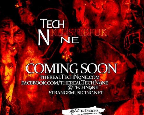"""""""KlusterFuk EP"""" de Tech N9ne pour le 28 Mars !"""