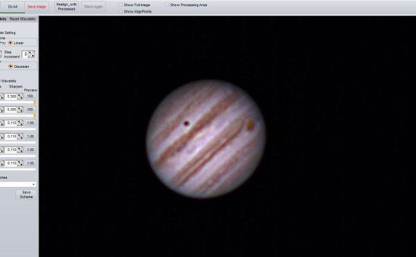 Transit Ganymède (Jupiter) 5-5-16