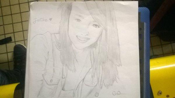 Un des dernier portrait que j'ai fais :p