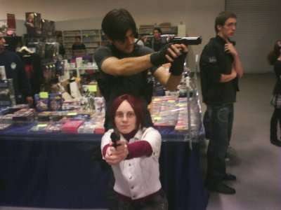 Chibi Japan Expo en Claire Redfield Degeneration