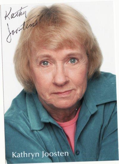 Autographe Kathryn Joosten