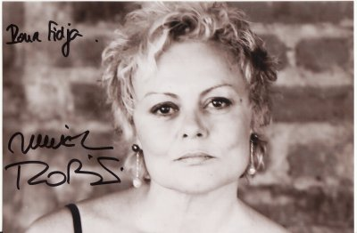 Autographe Muriel robin