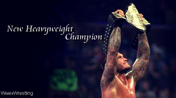 Randy World Heavyweight champion