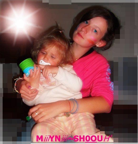 AMELiE & KiARA , MES BBEiiY'♥