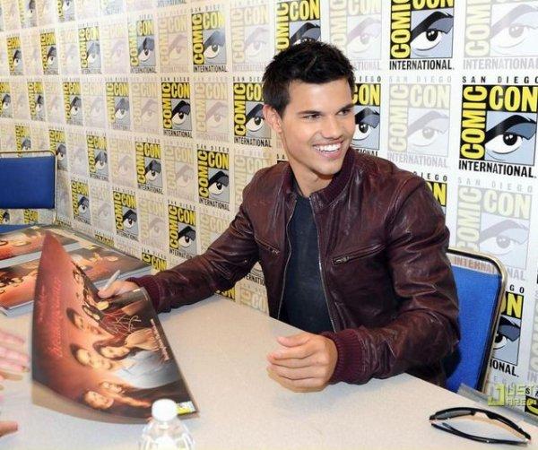 Twilight à la Comic Con' 2011 ♥