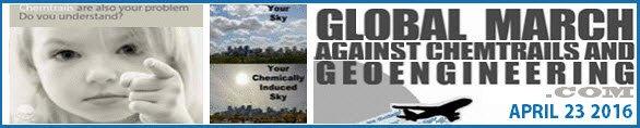 Marche mondiale pour un ciel sans géo-ingénierie le 23 avril 2016