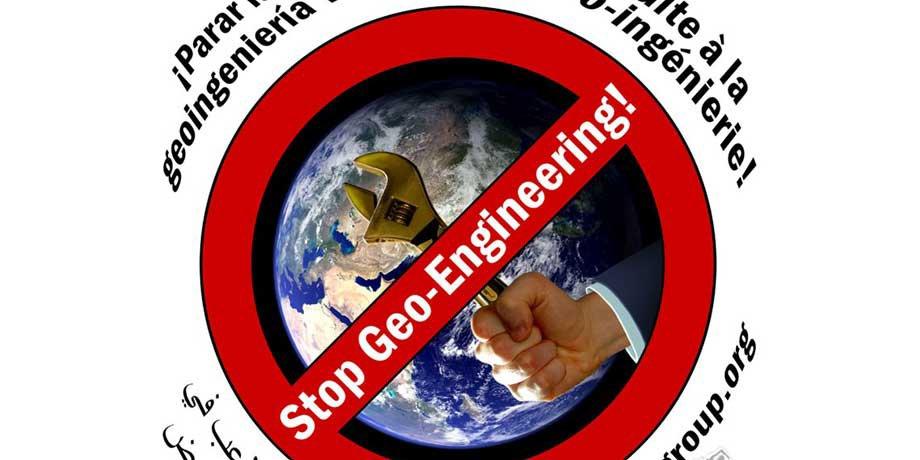 STOP-GEO-INGENIERIE: non a la géo-ingénierie.