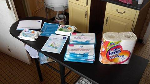 Trnd : Nouveau projet Papier toilette humide Lotus. Voila le site TRND