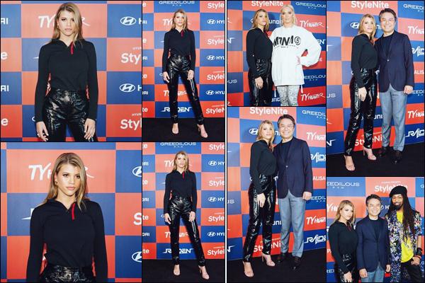 """"""" -27/11/18 •- Sofia Richie s'est rendue à l'événement : « Hyundai Style Nite » se déroulant dans West Hollywood !Quel plaisir de voir Sofia à un event, de plus j'adore sa tenue, surtout le pantalon ! C'est comme d'habitude un gros top pour la jeune femme ! Des avis ? ."""