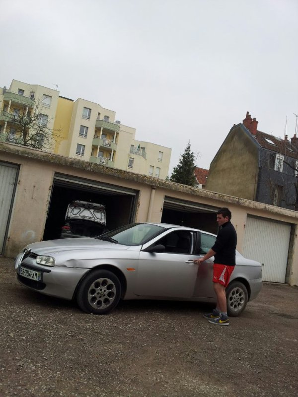 Alfa Roméo 156 180cv Et Audi Rs5 450CV