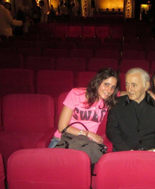 Avec Aznavour ;)
