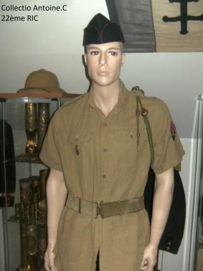 Caporal du 22ème Régiment d'Infanterie Coloniale - Indochine 1946 -