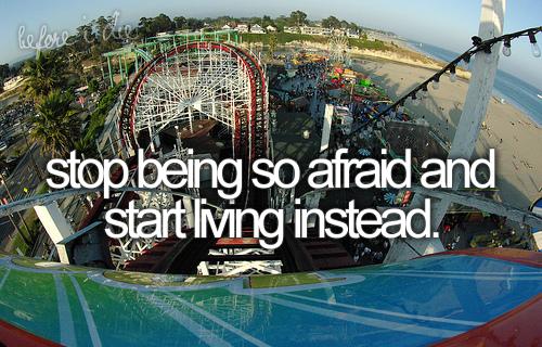 La peur est sans limites pour ceux qui ne savent pas la contrôler.