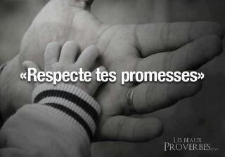 les promesse sont fete pour etre tenue pas pour etre brizer !♥