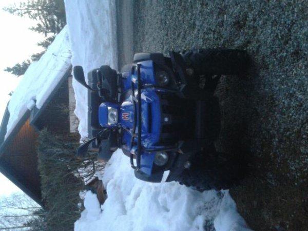 Mon quad avec peune