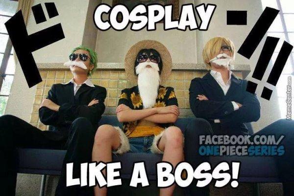 Cosplays en force !!!!!