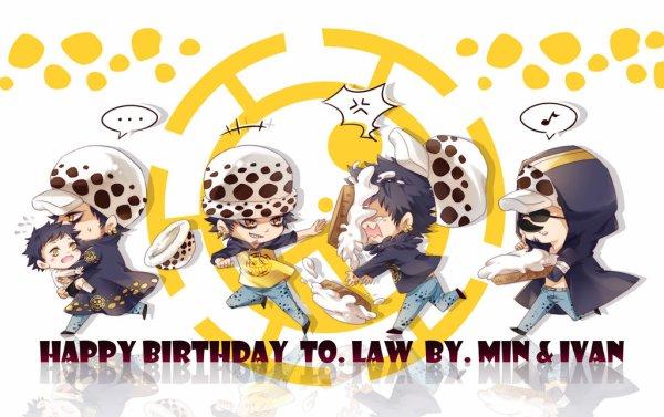 Joyeux anniversaire law !!!