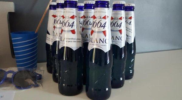 Avis test bière 1664 blanc avec et sans alcool