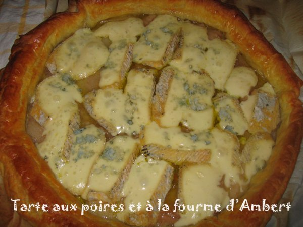 (l) TARTE A LA FOURME D AMBER ET POIRE(l)